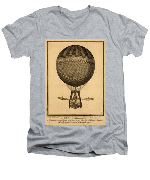 Lunardi The Great Men's V-Neck T-Shirt