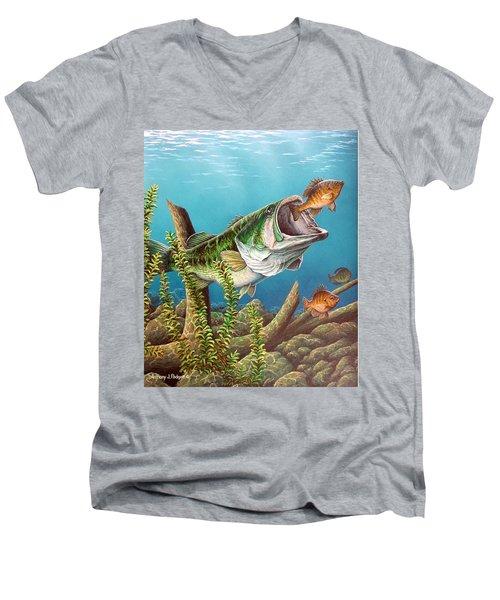 Lunch Men's V-Neck T-Shirt