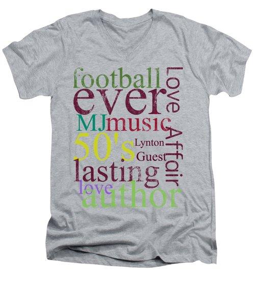 Lynton Guest Men's V-Neck T-Shirt