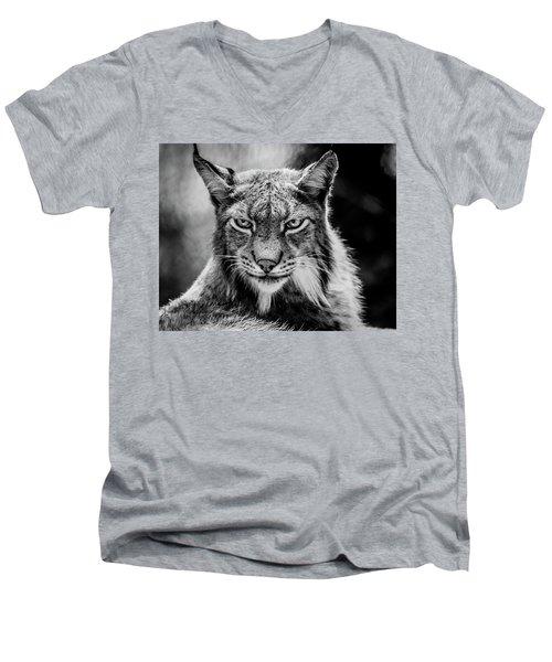 Lynx Portet Men's V-Neck T-Shirt