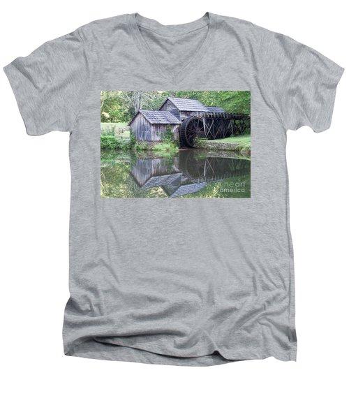 Mabry Mill Men's V-Neck T-Shirt