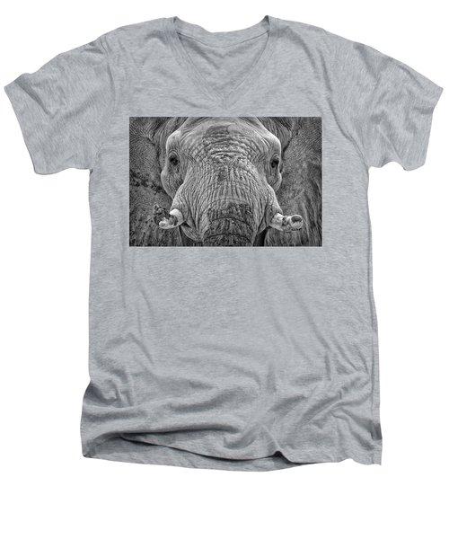 Mabu Up Close N Personal Men's V-Neck T-Shirt