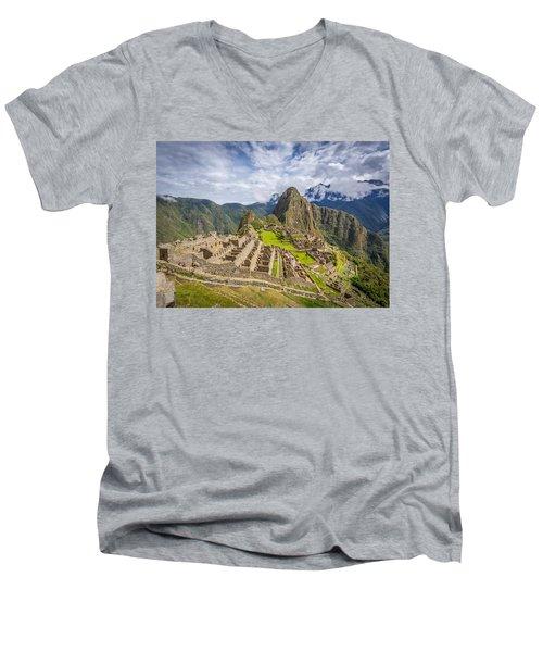 Machu Picchu Peru Men's V-Neck T-Shirt