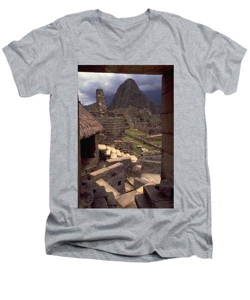 Machu Picchu Men's V-Neck T-Shirt