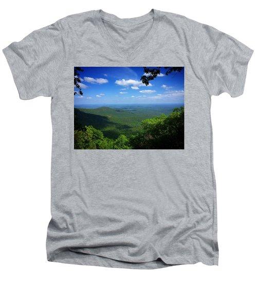 Mackaye Overlook Men's V-Neck T-Shirt