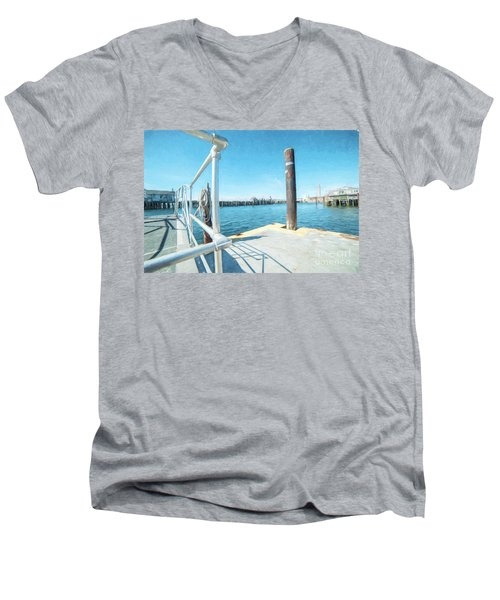 Macmillan Pier Men's V-Neck T-Shirt