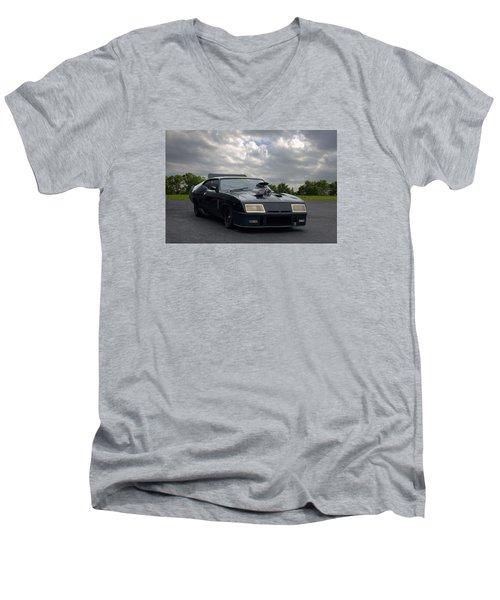 Mad Max Mfp Interceptor Replica Men's V-Neck T-Shirt