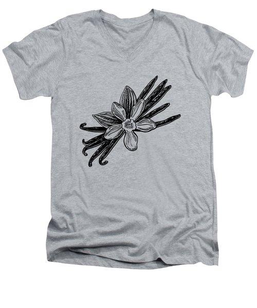 Madagascar Vanilla Men's V-Neck T-Shirt by Irina Sztukowski