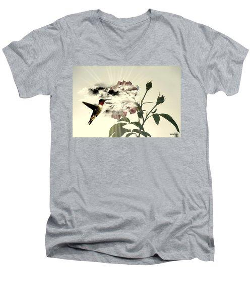 Magic Flower Men's V-Neck T-Shirt
