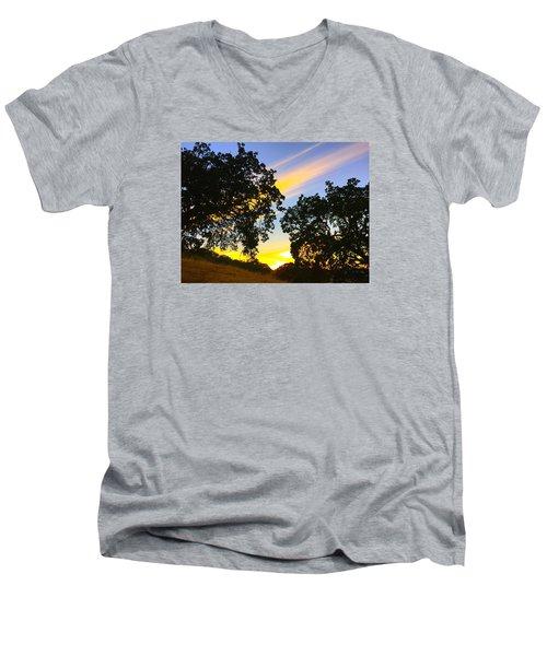 Magic Hour Sunset Men's V-Neck T-Shirt