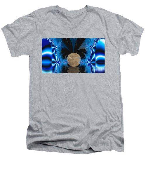 Magic Moon Men's V-Neck T-Shirt