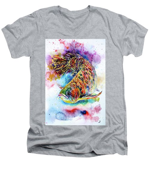 Magic Of Arowana Men's V-Neck T-Shirt
