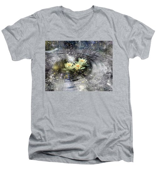 Magick Ripples Men's V-Neck T-Shirt