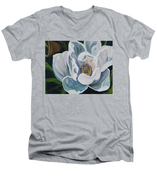 Magnolia Men's V-Neck T-Shirt