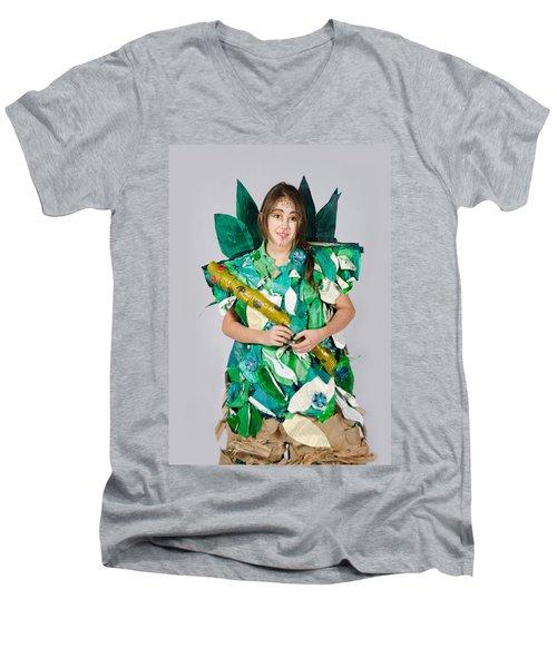 Mahko In The Jungle Book Men's V-Neck T-Shirt