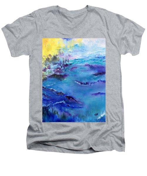 Maine Coast, First Impression Men's V-Neck T-Shirt
