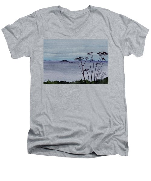 Maine Moody Distance Men's V-Neck T-Shirt