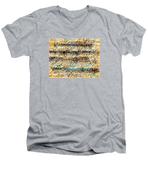 Maiorem Men's V-Neck T-Shirt by Gary Bodnar