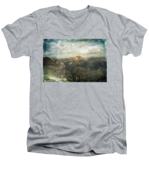 Majestic Dolomites Men's V-Neck T-Shirt
