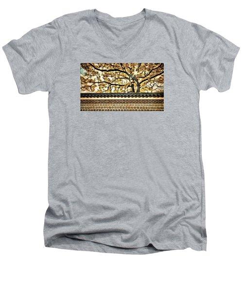 Majestic Tree Men's V-Neck T-Shirt