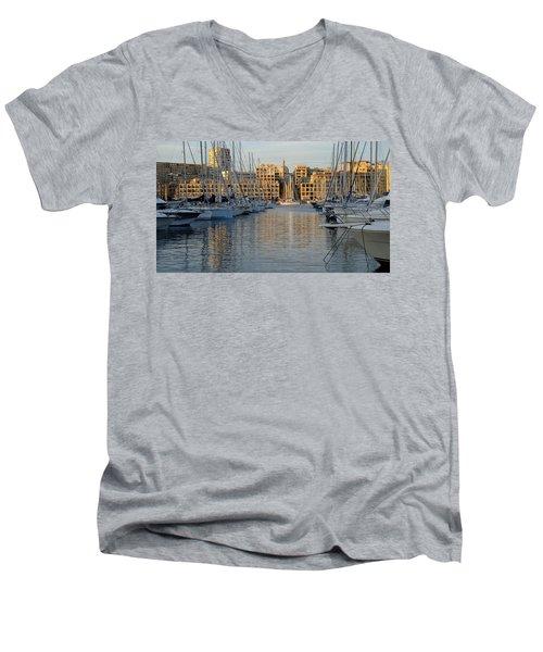 Majestic Vieux Port Men's V-Neck T-Shirt