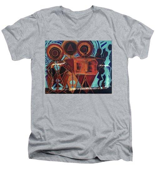 Make A Joyful Noise Men's V-Neck T-Shirt