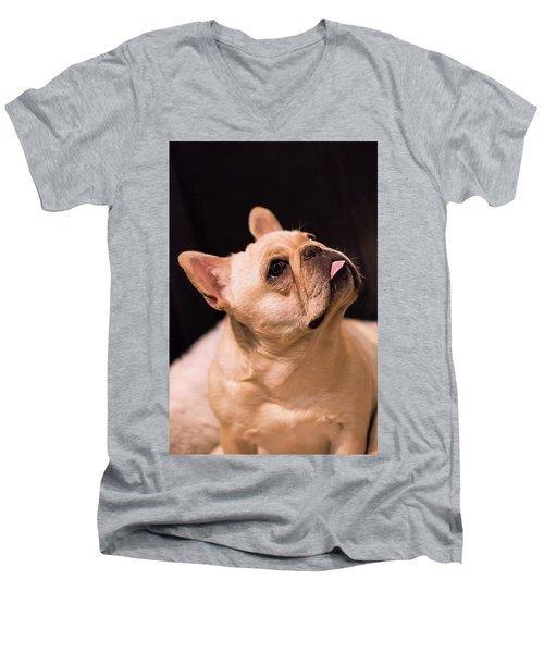 Make Me Men's V-Neck T-Shirt