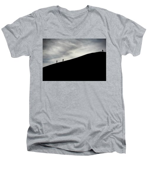 Make The Climb Men's V-Neck T-Shirt