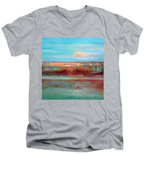 Malachite By V.kelly Men's V-Neck T-Shirt