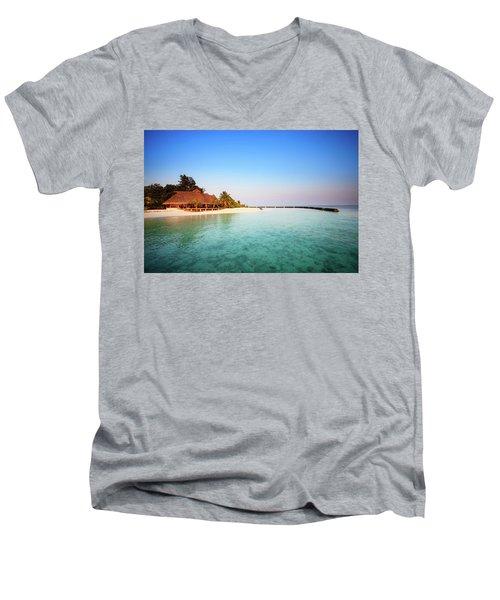 Maldives Morning Men's V-Neck T-Shirt