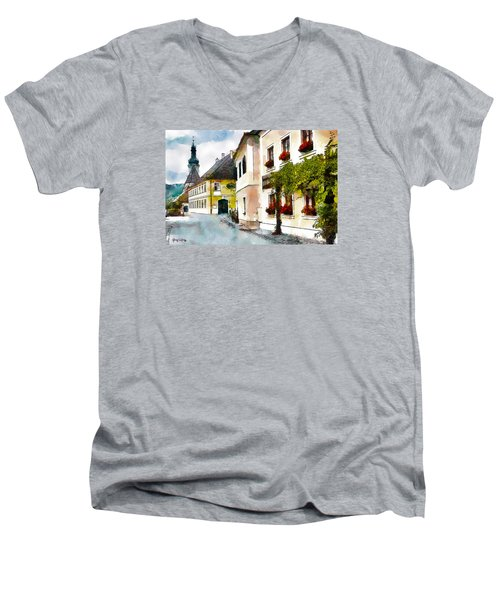 Malerische Men's V-Neck T-Shirt
