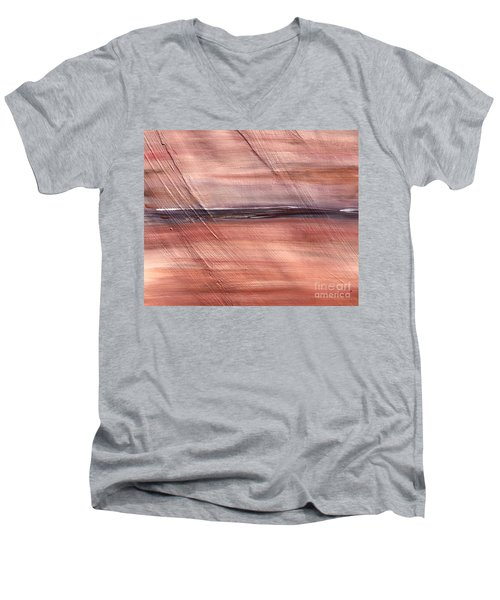 Malibu #32 Seascape Landscape Original Fine Art Acrylic On Canvas Men's V-Neck T-Shirt