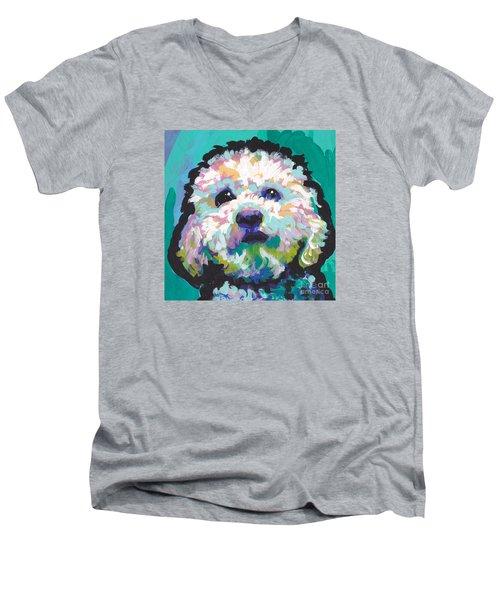 Malted Milky Poo Men's V-Neck T-Shirt
