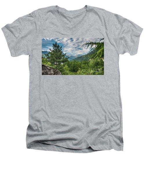 Manali In Summer Men's V-Neck T-Shirt