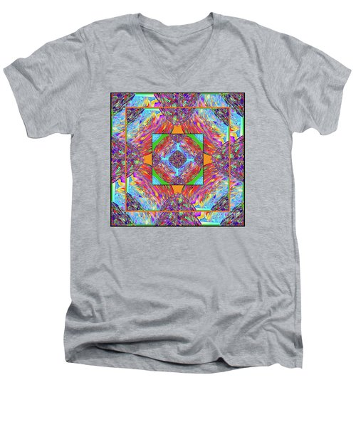 Mandala #1 Men's V-Neck T-Shirt