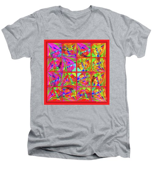 Mandala #48 Men's V-Neck T-Shirt