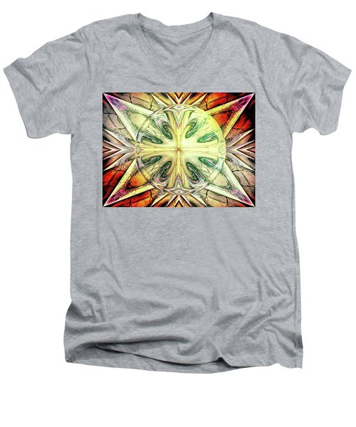 Mandala Men's V-Neck T-Shirt