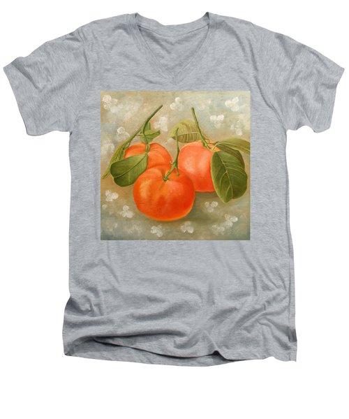 Mandarins Men's V-Neck T-Shirt