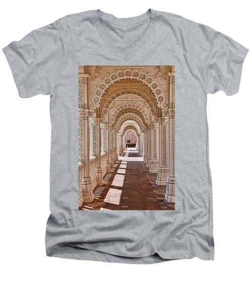 Mandir # 5 Men's V-Neck T-Shirt