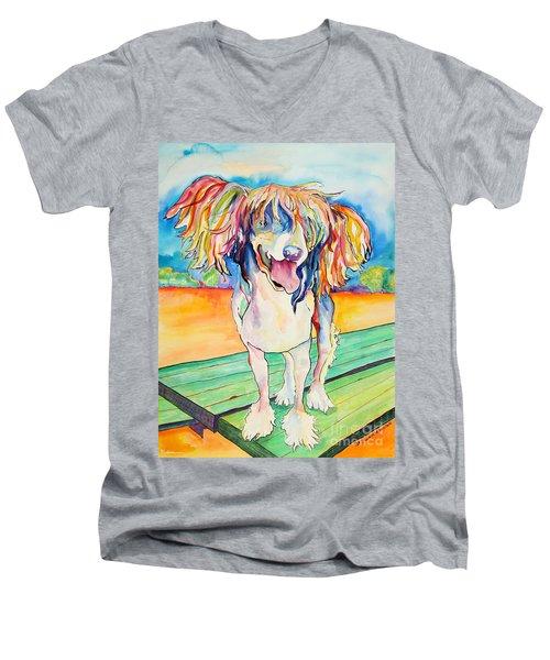 Mango Salsa Men's V-Neck T-Shirt