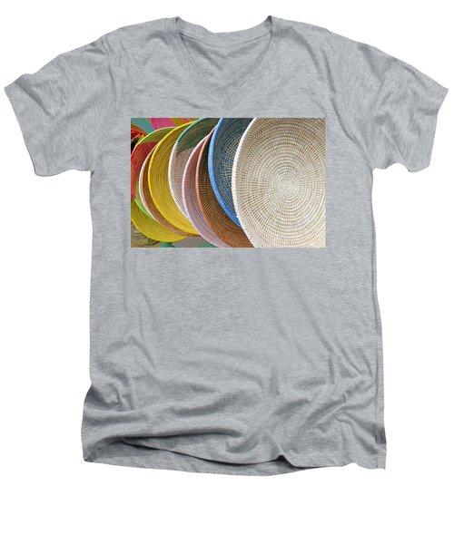 Manhattan Wicker Men's V-Neck T-Shirt
