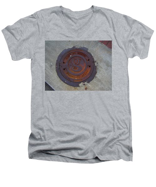Manhole IIi Men's V-Neck T-Shirt