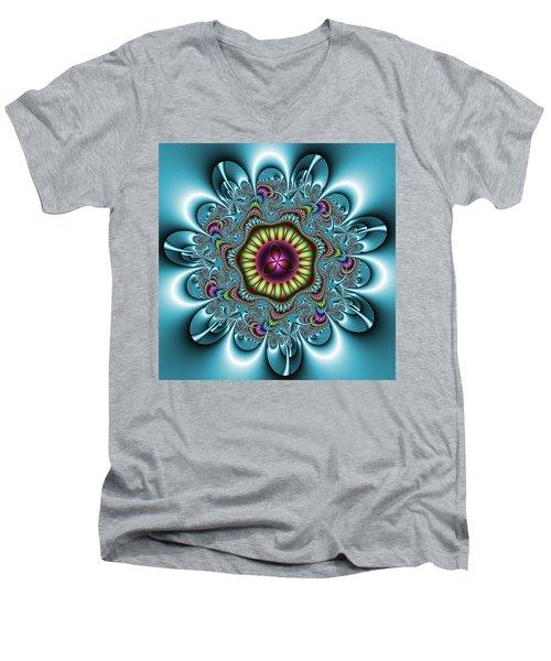 Manisadvon Men's V-Neck T-Shirt