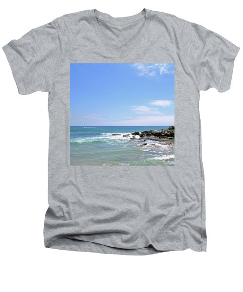 Manly Beach No. 267 Men's V-Neck T-Shirt