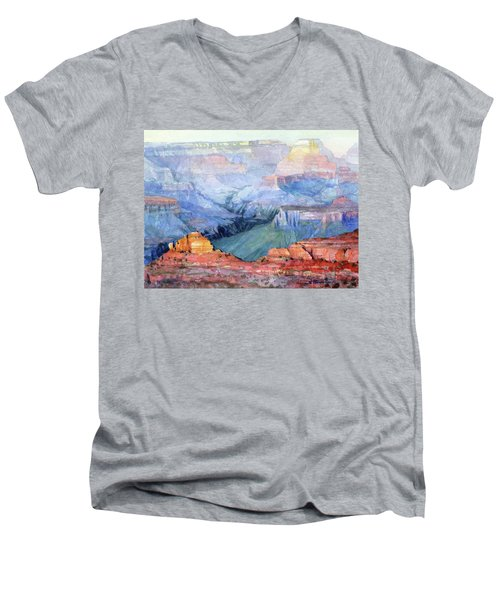 Many Hues Men's V-Neck T-Shirt