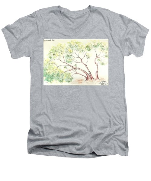 Manzanita Tree Men's V-Neck T-Shirt