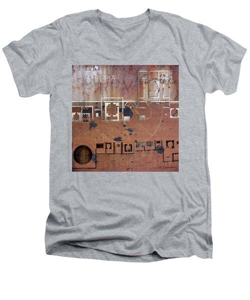Maps #19 Men's V-Neck T-Shirt