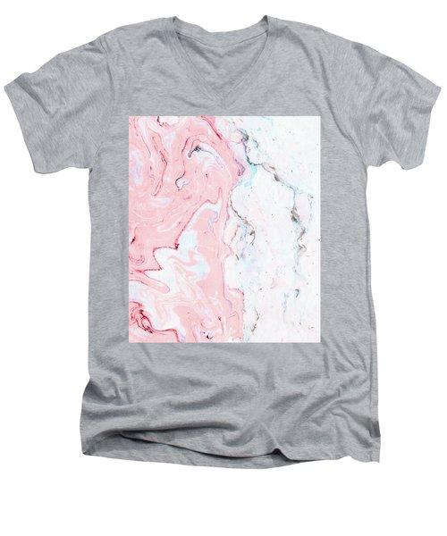 Marble Love Men's V-Neck T-Shirt