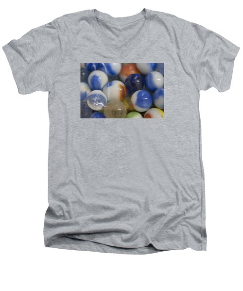 Marble Memories Men's V-Neck T-Shirt