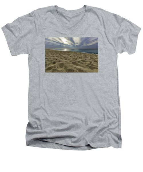 March To The Sea Men's V-Neck T-Shirt